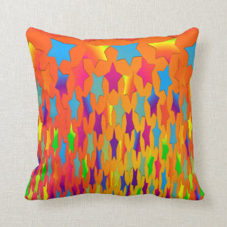 Falling Stars Square Throw Pillow