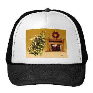Falling Tree Kitty Hat