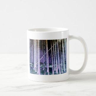 Falling Tree Classic White Coffee Mug