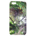 Falling Trees Green River Banks Posterized Cover For iPhone 5C