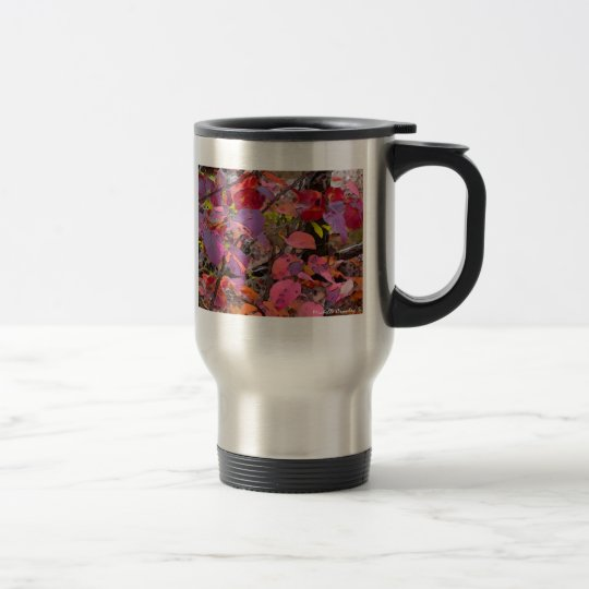 FallLeaves Travel Mug