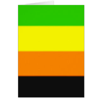 Fallln Aromantic Pride Flag Card