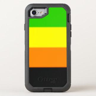 Fallln Aromantic Pride Flag OtterBox Defender iPhone 8/7 Case