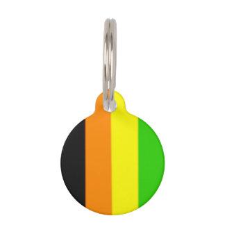 Fallln Aromantic Pride Flag Pet ID Tag
