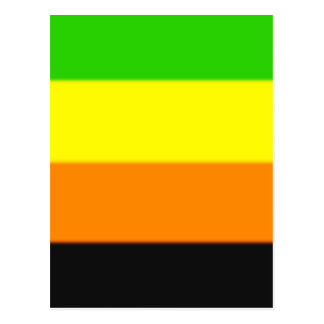 Fallln Aromantic Pride Flag Postcard
