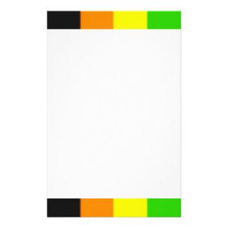 Fallln Aromantic Pride Flag Stationery