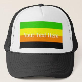Fallln Aromantic Pride Flag Trucker Hat