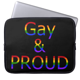 Fallln Gay and Proud Computer Sleeve