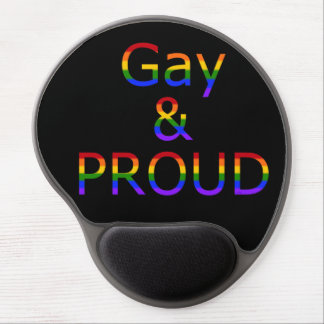 Fallln Gay and Proud Gel Mouse Pad