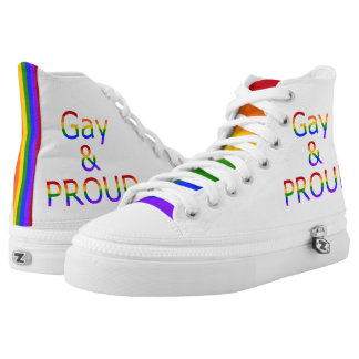 Fallln Gay and Proud High-Top Sneakers