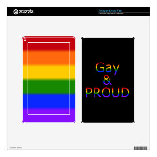 Fallln Gay and Proud Kindle Fire Decal