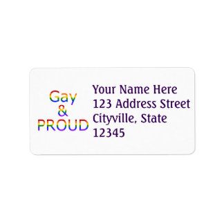 Fallln Gay and Proud Label