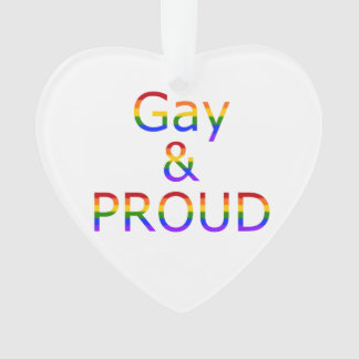 Fallln Gay and Proud Ornament