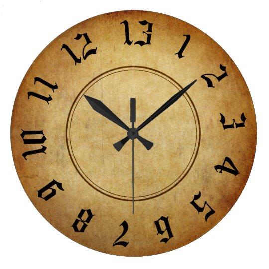 Falln 13 Hour Clock Zazzle Com
