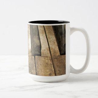 Falln A Melody Left Abadoned Two-Tone Coffee Mug