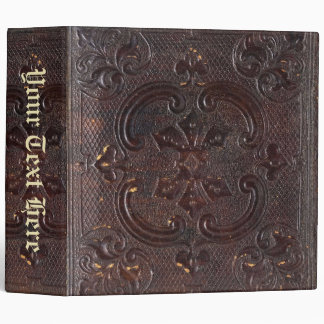 Falln Ancient Leather Book 3 Ring Binder