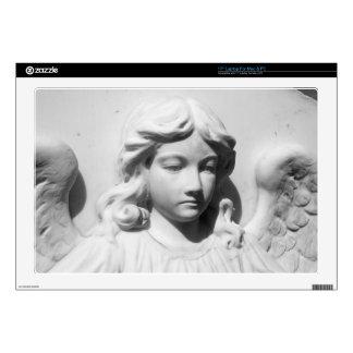 """Falln Angel in Mourning 17"""" Laptop Skins"""