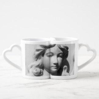 Falln Angel in Mourning Coffee Mug Set