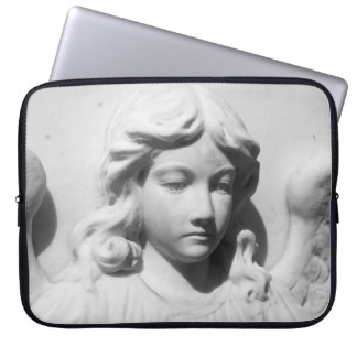 Falln Angel in Mourning Computer Sleeve
