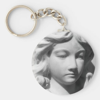 Falln Angel in Mourning Keychain
