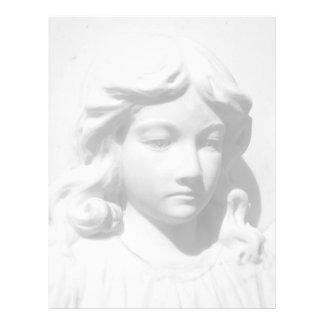 Falln Angel in Mourning Letterhead