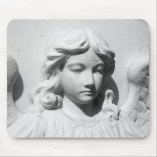 Falln Angel in Mourning Mouse Pad