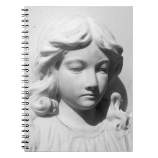 Falln Angel in Mourning Spiral Notebook