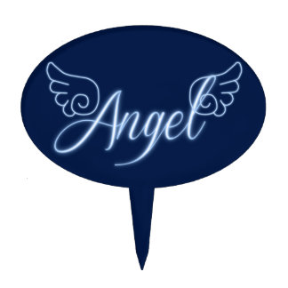 Falln Angel With Wings Cake Topper