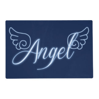 Falln Angel With Wings Placemat