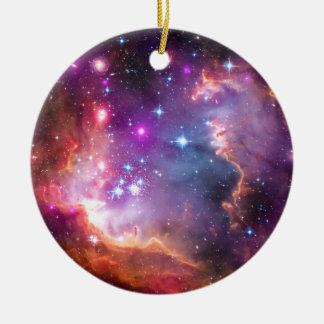 Falln Angelic Galaxy Ceramic Ornament