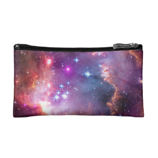 outer space cosmetic makeup bags zazzle
