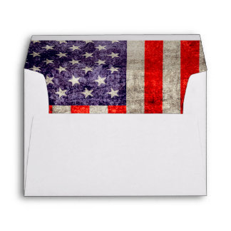 Falln Antique American Flag Envelope