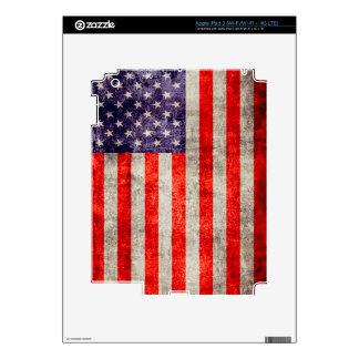 Falln Antique American Flag iPad 3 Skin