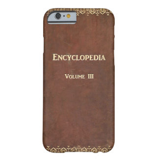 Falln Antique Encyclopedia Book Barely There iPhone 6 Case