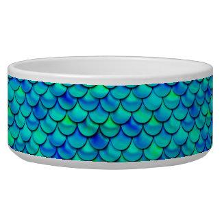 Falln Aqua Blue Scales Bowl