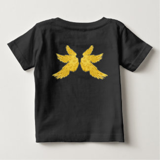 Falln Archangel Gabriel Front and Back Baby T-Shirt