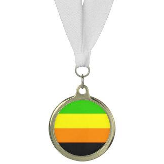Falln Aromantic Pride Flag Medal