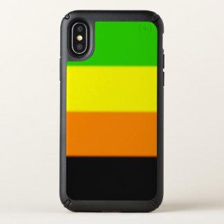 Falln Aromantic Pride Flag Speck iPhone X Case