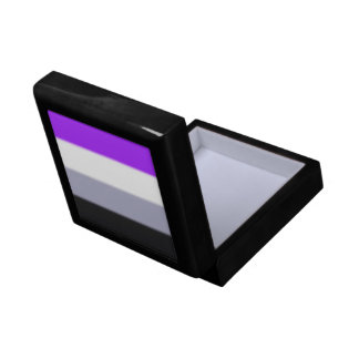 Falln Asexual Pride Flag Keepsake Box