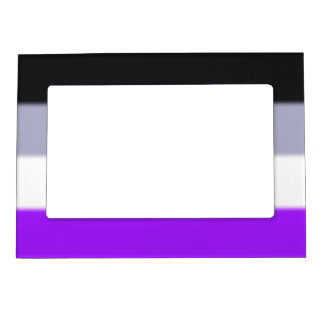 Falln Asexual Pride Flag Magnetic Picture Frame