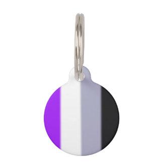 Falln Asexual Pride Flag Pet ID Tag