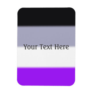 Falln Asexual Pride Flag Rectangular Photo Magnet