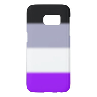 Falln Asexual Pride Flag Samsung Galaxy S7 Case