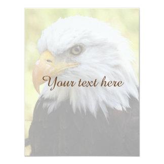 Falln Bald Eagle Liberty Card