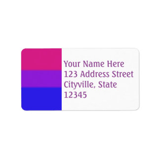 Falln Bisexual Pride Flag Label