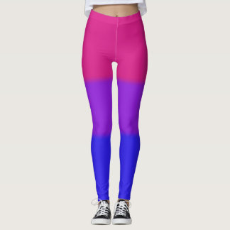 Falln Bisexual Pride Flag Leggings