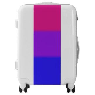 Falln Bisexual Pride Flag Luggage