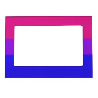 Falln Bisexual Pride Flag Magnetic Photo Frame