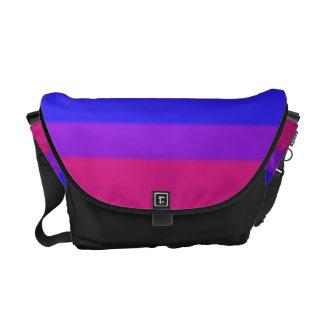 Falln Bisexual Pride Flag Messenger Bag