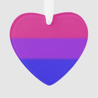 Falln Bisexual Pride Flag Ornament